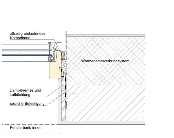 Wärmedämmungverbundsystem 1